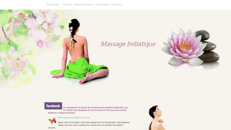 Massage initiatique