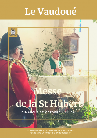 Messe de la st hubert 2019