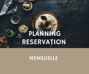 Reservation mensuelle